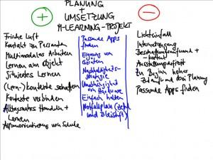 Reflexion Umsetzung M-Learning-Szenarien (Seipold 2014)